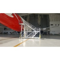 B787 Entry Door Access Stairs