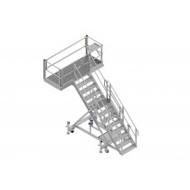 Multi-Purpose Cantilevered Stand – 45 degree access