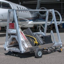 Aviation Chock Trolley