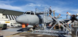 Fuselage Wash Stand