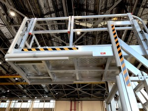 Height Adjustable Multi-Purpose Cantilever Platform