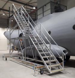 'Mission complete' with a safe & efficient solution to access the top of Aircraft Fuselage
